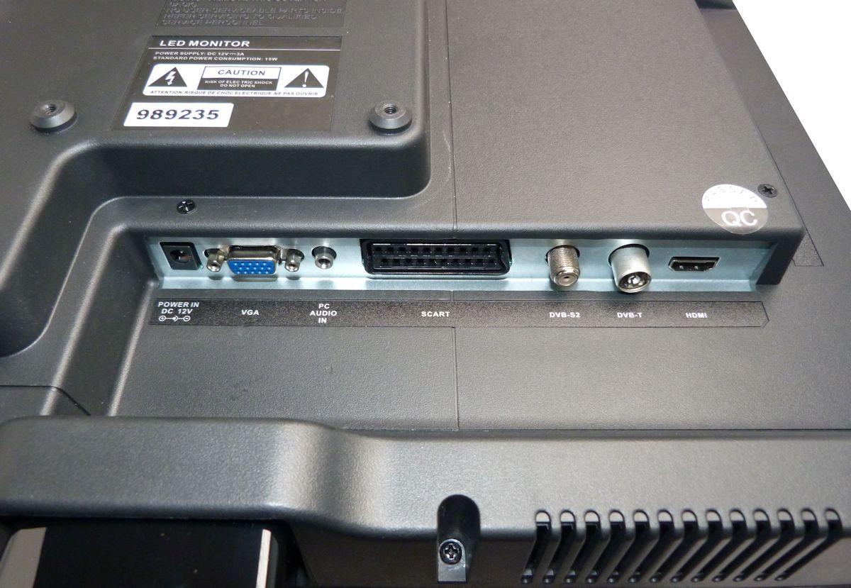 """19"""" 12V Travel TV with DVD, DVB-T and DVB-S2 Satellite"""