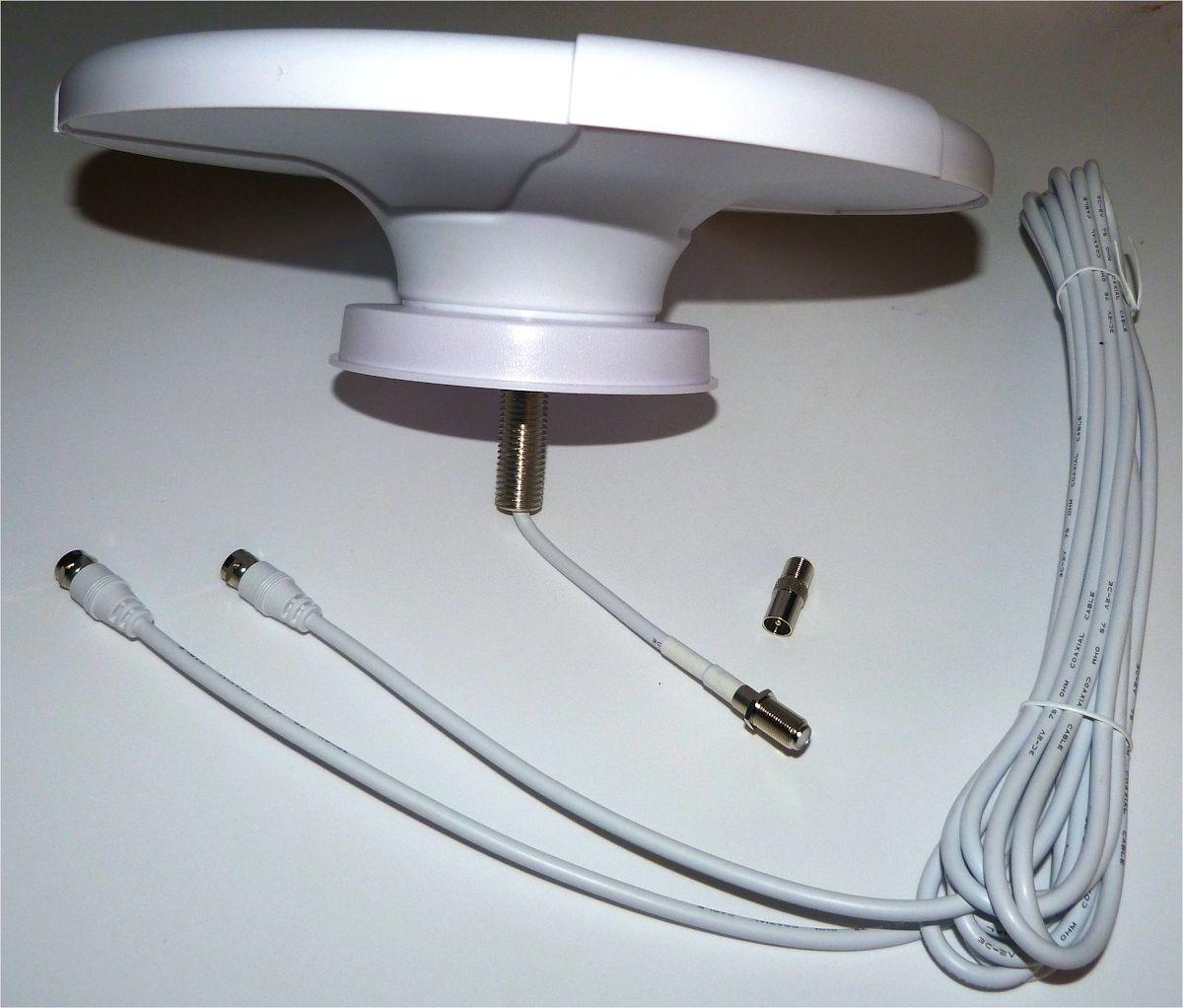 Roof Mount Dvb T Digital Tv Antenna For Motorhomes